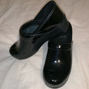 Dansko Patent Leather Cloggs